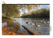Autumn Colours At Sunbury On Thames Surrey Uk Carry-all Pouch
