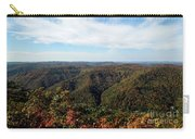 Autumn Comes To The Mountains 3 Carry-all Pouch