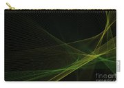 Autumn Computer Graphic Line Pattern Carry-all Pouch