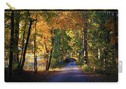 Autumn Country Lane Carry-all Pouch
