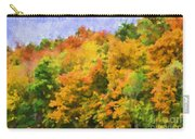 Autumn Country On A Hillside II - Digital Paint Carry-all Pouch