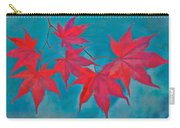 Autumn Crimson Carry-all Pouch by William Jobes