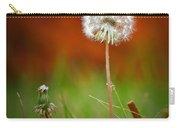 Autumn Dandelion Carry-all Pouch