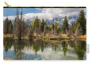Autumn Day At Schwabacher's Landing Carry-all Pouch