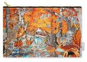 Autumn Deer Birch Background Carry-all Pouch