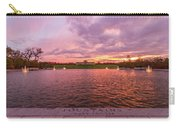 Autumn Evening At Forest Parks Grand Basin Carry-all Pouch