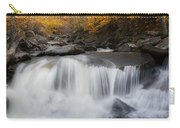 Autumn Falling Square Carry-all Pouch