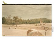Autumn Farming And Agriculture Landscape Carry-all Pouch