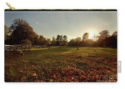 Autumn Field With Sheep Carry-all Pouch