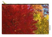 Autumn Fire  In  Red  And  Gold Carry-all Pouch