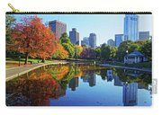 Autumn Foliage On The Boston Common Frog Pond Carry-all Pouch