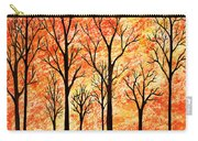Autumn Forest Abstract  Carry-all Pouch