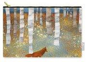 Autumn Fox Carry-all Pouch
