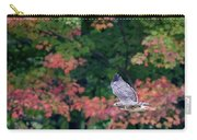 Autumn Hawk Square Carry-all Pouch