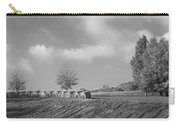Autumn Hay Bw Carry-all Pouch