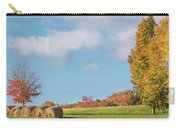 Autumn Hay Square Carry-all Pouch