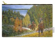 Autumn In Big Bear, 18x24, Oil, '08 Carry-all Pouch