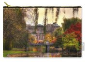 Autumn In Boston Garden Carry-all Pouch