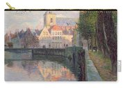 Autumn In Bruges Carry-all Pouch by Omer Coppens