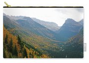 Autumn In Glacier Carry-all Pouch