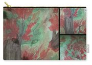 Autumn In My Soul Triptych Carry-all Pouch