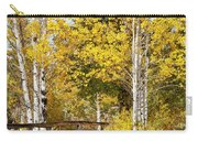 Autumn In Teton National Park Carry-all Pouch