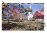 Autumn In Village Of Peacham, Vermont Carry-all Pouch
