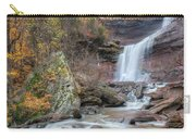 Autumn Kaaterskill Falls Square Carry-all Pouch