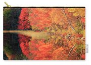 Autumn Lake Scenery Carry-all Pouch