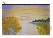 Autumn Lake Sunset  Carry-all Pouch