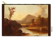 Autumn Landscape George Henry Durrie Carry-all Pouch