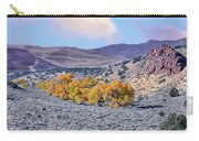 Autumn Landscape In Northern Nevada. Carry-all Pouch