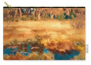 Autumn Landscape With Fox Carry-all Pouch