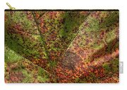 Autumn Leaf Detail Carry-all Pouch