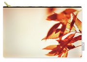 Autumn Leaves Border Carry-all Pouch