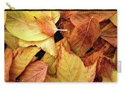 Autumn Leaves Carry-all Pouch by Carlos Caetano