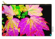Autumn Leaves Holiday Style Carry-all Pouch
