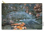 Autumn Leaves In Waterfall Carry-all Pouch