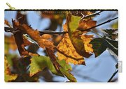 Autumn Leaves Macro 1 Carry-all Pouch