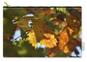Autumn Leaves Macro 2 Carry-all Pouch