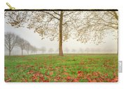 Autumn Leaves Near To Far Super High Resolution Carry-all Pouch