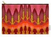 Autumn Leaves Polar Coordinate Abstract Carry-all Pouch