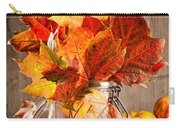Autumn Leaves Still Life Carry-all Pouch