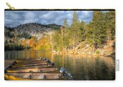 Autumn Light At The Lake Carry-all Pouch