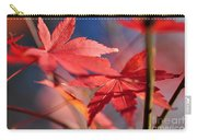 Autumn Maple Carry-all Pouch by Kaye Menner