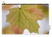 Autumn Maple Leaf Vertical Carry-all Pouch