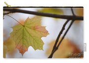 Autumn Maple Leaves Horizontal Carry-all Pouch