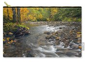 Autumn Meander Carry-all Pouch by Mike  Dawson