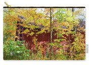 Autumn Michigan Barn  Carry-all Pouch