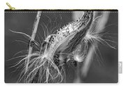 Autumn Milkweed 7 Bw Carry-all Pouch